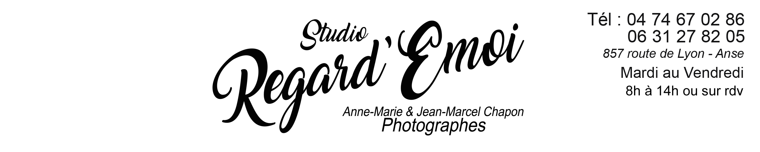 Photographe Anse Studio REGARD EMOI Photographe Mariage Portrait Scolaire Studio Photo 69480